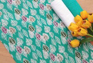batik cap garutan motif bunga kecil