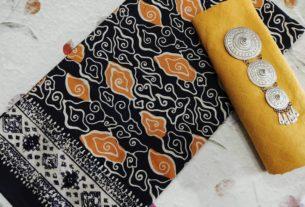 kain batik cap motif mega mendung