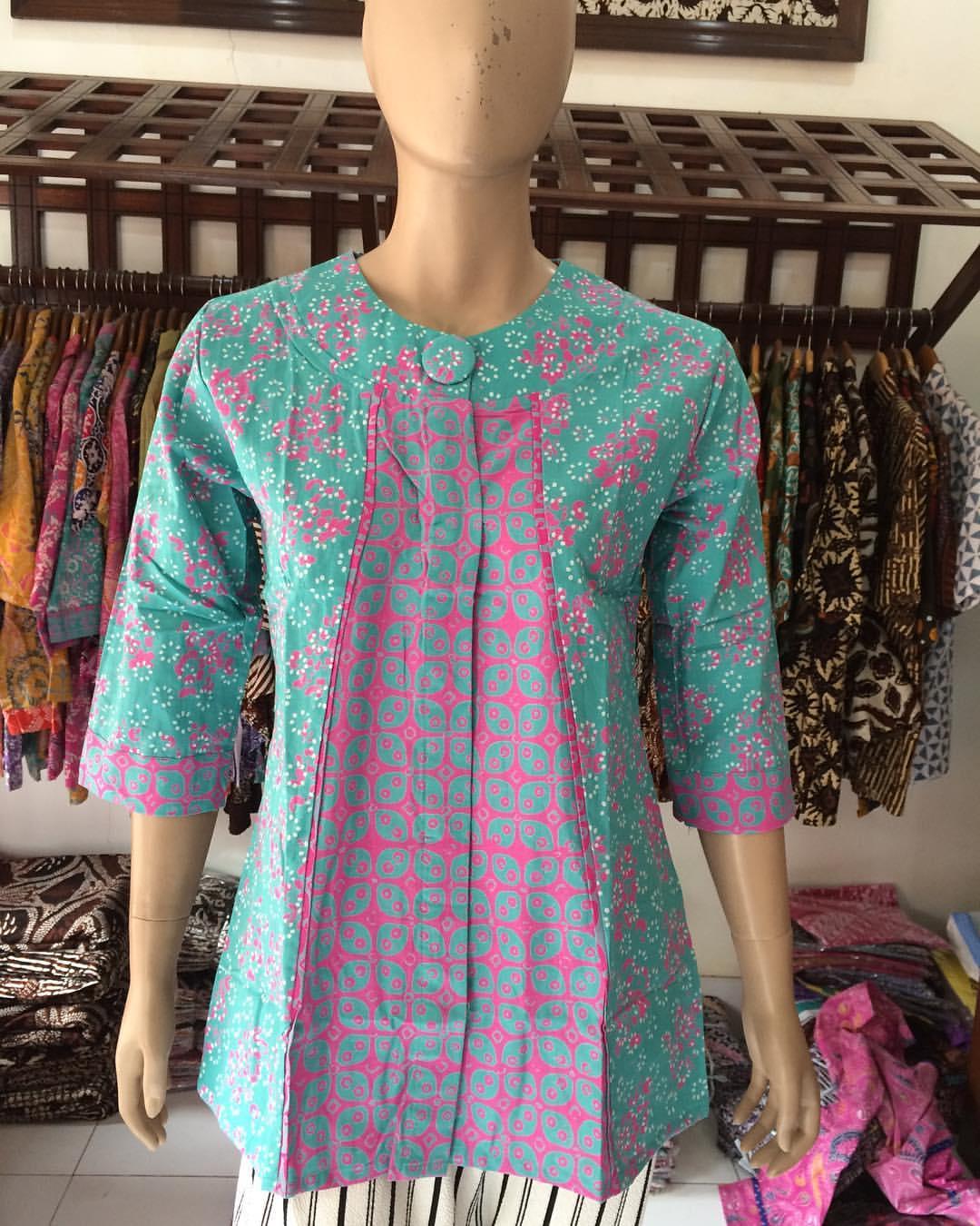 blus batik asli cap pekalongan