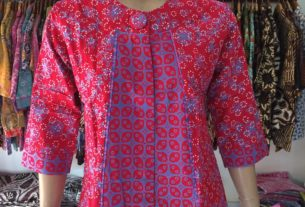 contoh model pakaian kerja batik wanita