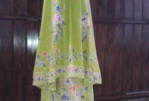 mukena batik cap halus asli batik tradisional