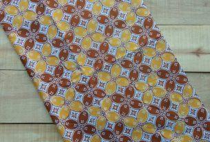 motif batik kawung bahan halus