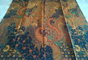 batik motif tulis lawasan halus proses sablon malam