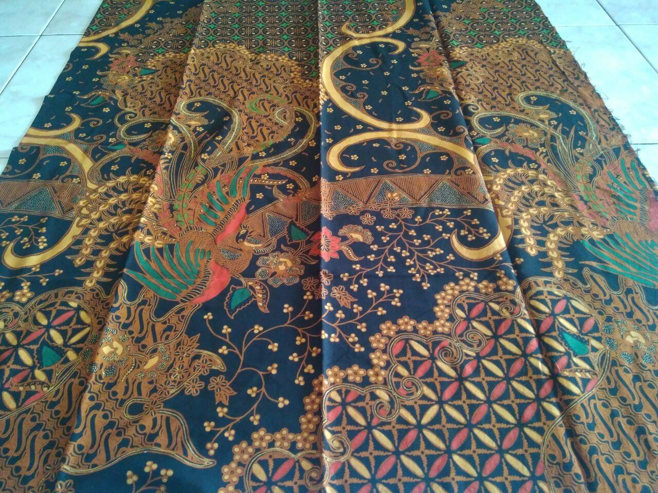 kain batik sablon malam motif batik tulis halus