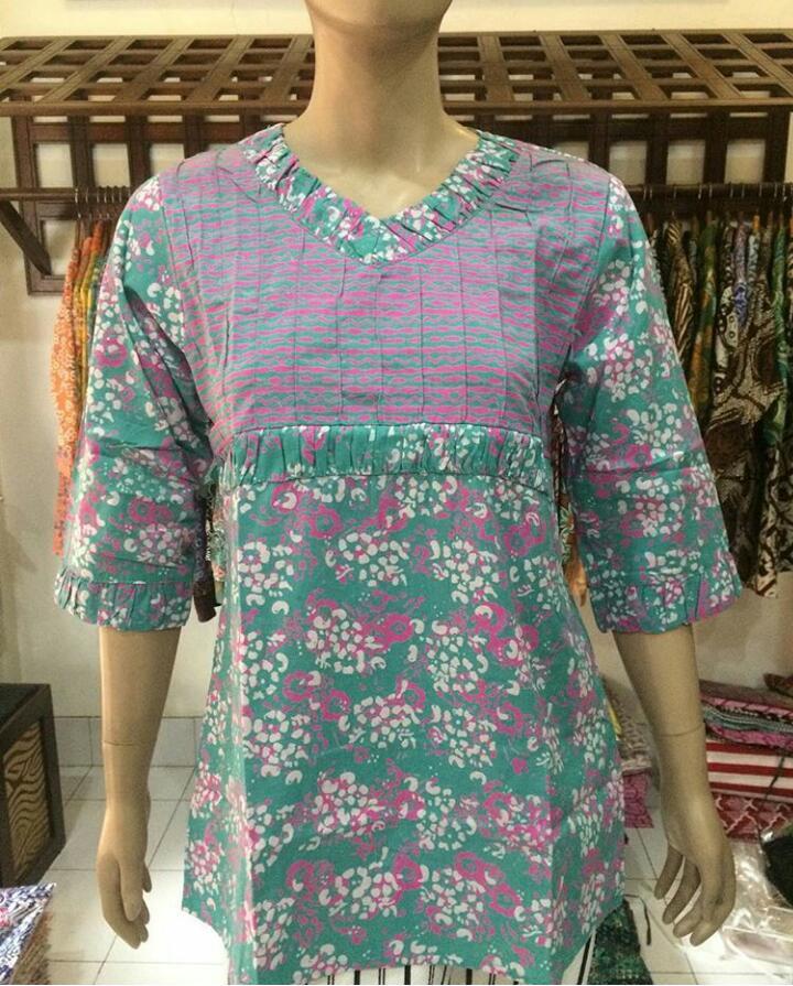 baju batik kantor untuk wanita kerja