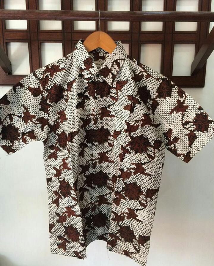 baju batik cap sogan bahan halus