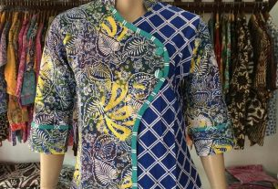Jual Blouse Batik Wanita Terbaru
